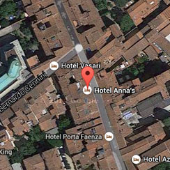 Hotel Anna's Florence - Posizione